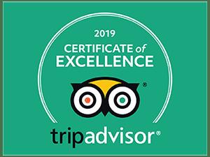 Adventure Sports TripAdvisor Certificate of Excellence