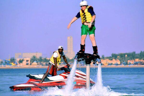 flyboard in Ras Al Khaimah