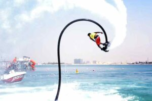 Flyboard in Marjan Island