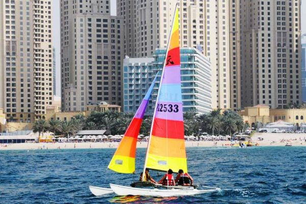 Sailing in UAE