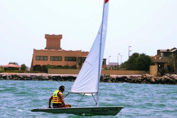 Sailing in Ras AL Khaimah