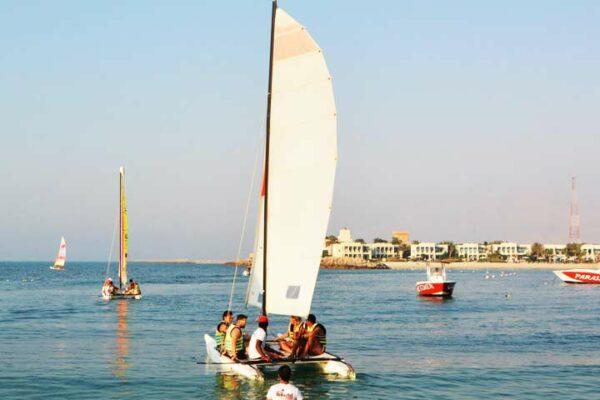 Sailing in UAE