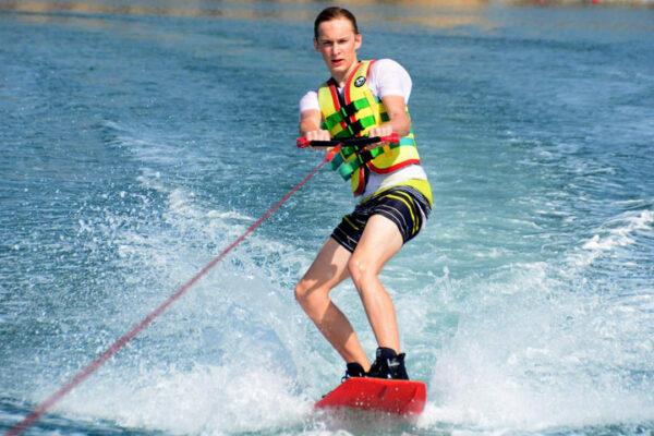 Water ski in Ras Al Khaimah