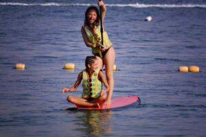 kids menu paddle board