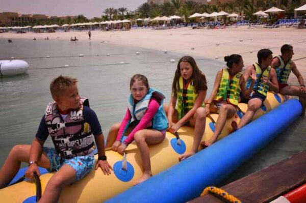 Kids Menu Banana Ride