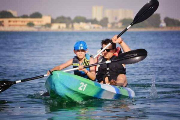 Kids Menu Kayak