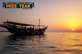 Miss Teak Arabian Dhow